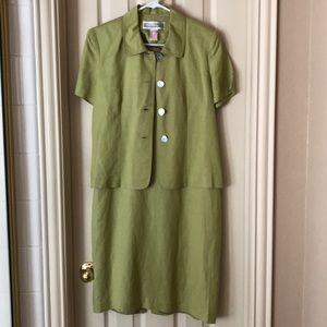 2 piece dress ensemble